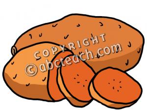 300x225 Clip Art Sweet Potatoes Color Clipart Panda