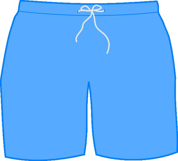 600x543 Swim Shorts Clip Art
