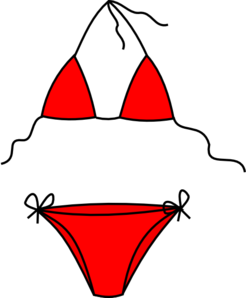 246x298 Bikini Clip Art