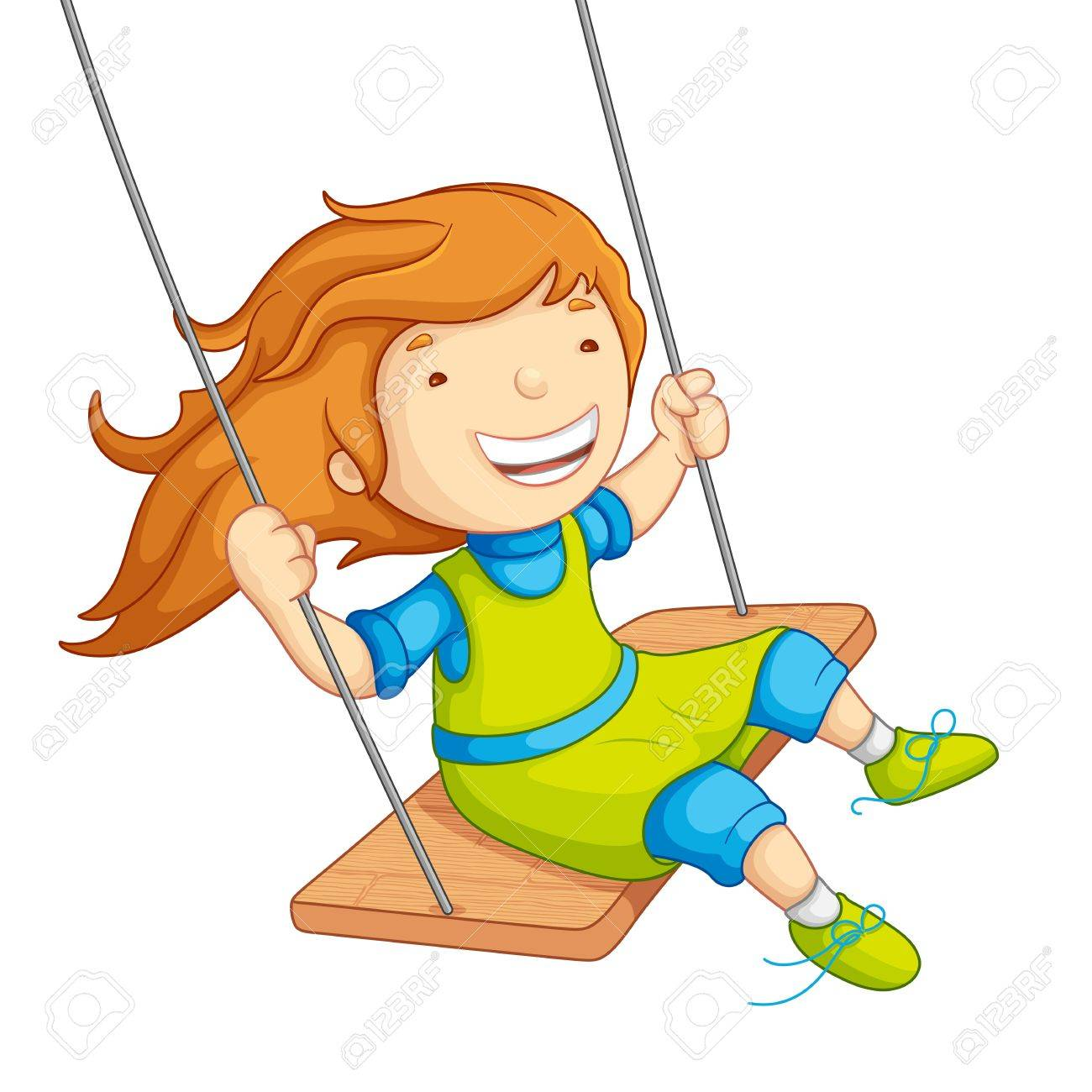 1300x1300 Collection Of Girl Swinging Clipart High Quality, Free