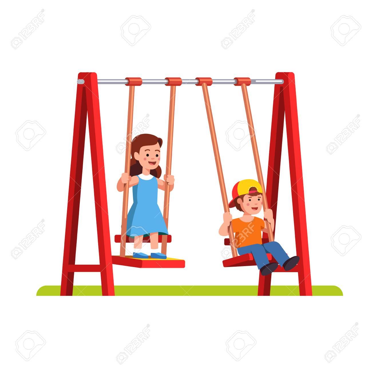 1300x1300 Swing Clipart Playground Fun 3
