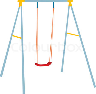 Swing Set Clipart At Getdrawingscom Free For Personal Use Swing