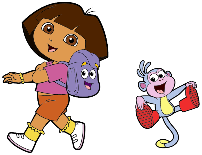 707x544 Dora The Explorer Clip Art Cartoon Clip Art