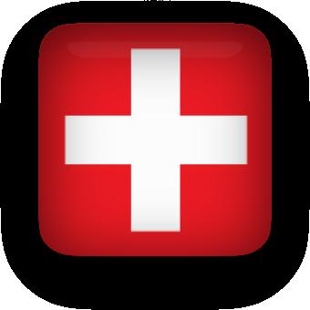 340x340 Free Animated Switzerland Flags