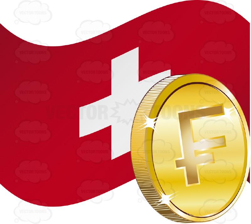800x714 Swiss Francs Clipart