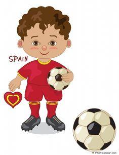 235x306 Switzerland National Jersey, Cartoon Soccer Player Kids Clip Art