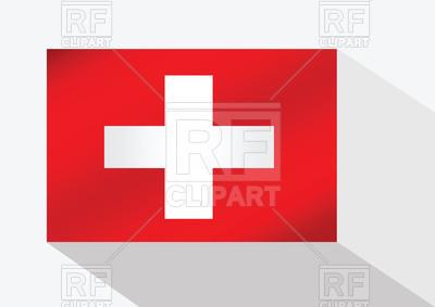 400x283 Flag Of Switzerland Royalty Free Vector Clip Art Image