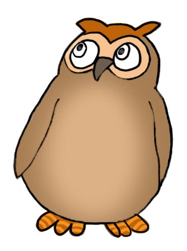 377x505 Owl Clip Art