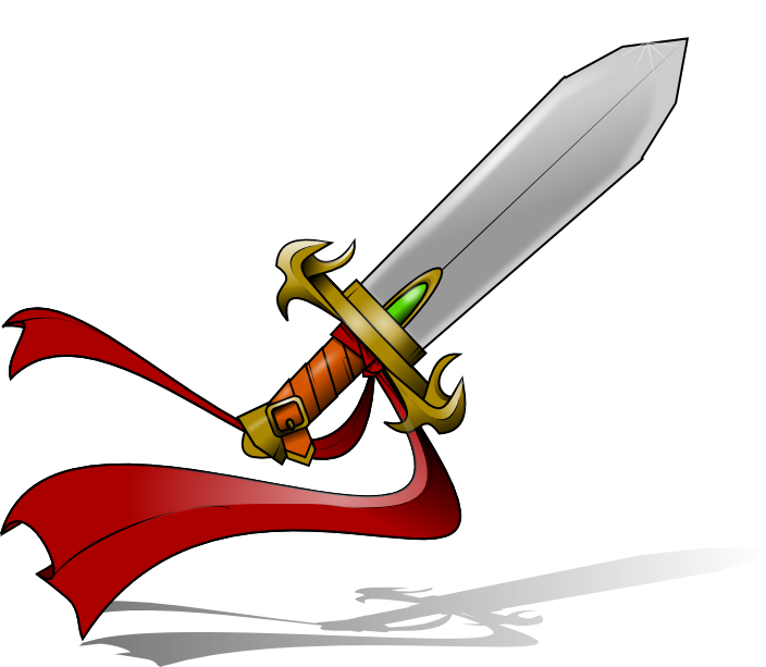 704x613 Sword Drawings Clipart Cliparthut