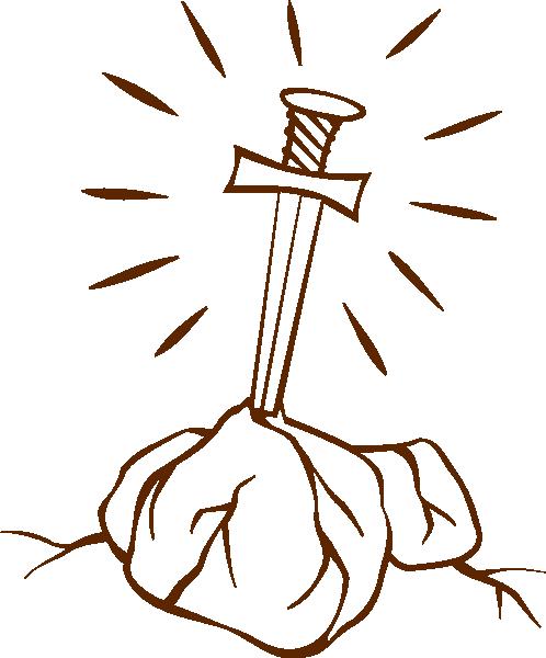 498x600 Sword In The Stone Clip Art