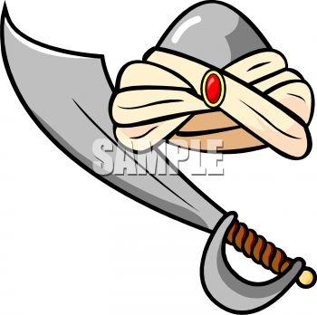 350x348 Sword clipart sikh