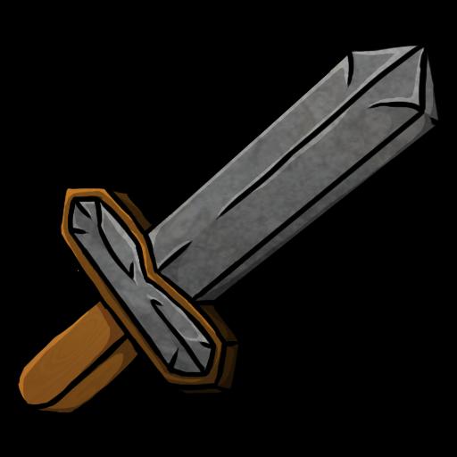 512x512 Sword clipart stone