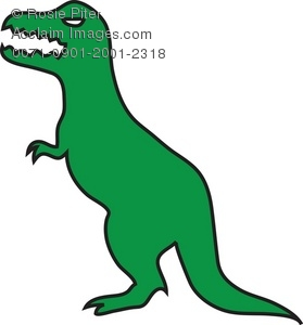 279x300 Cartoon Tyrannosaurus Rex Dinosaur Royalty Free Clip Art Picture