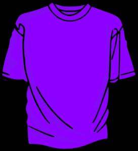273x298 T Shirt Purple Clip Art