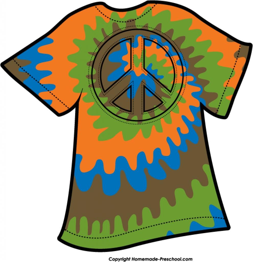 991x1024 Tie Dye Clip Art