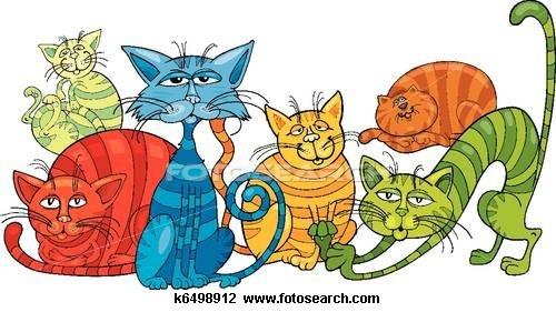500x281 75 Best Cats Clipart Images On Cat Clipart, Digi