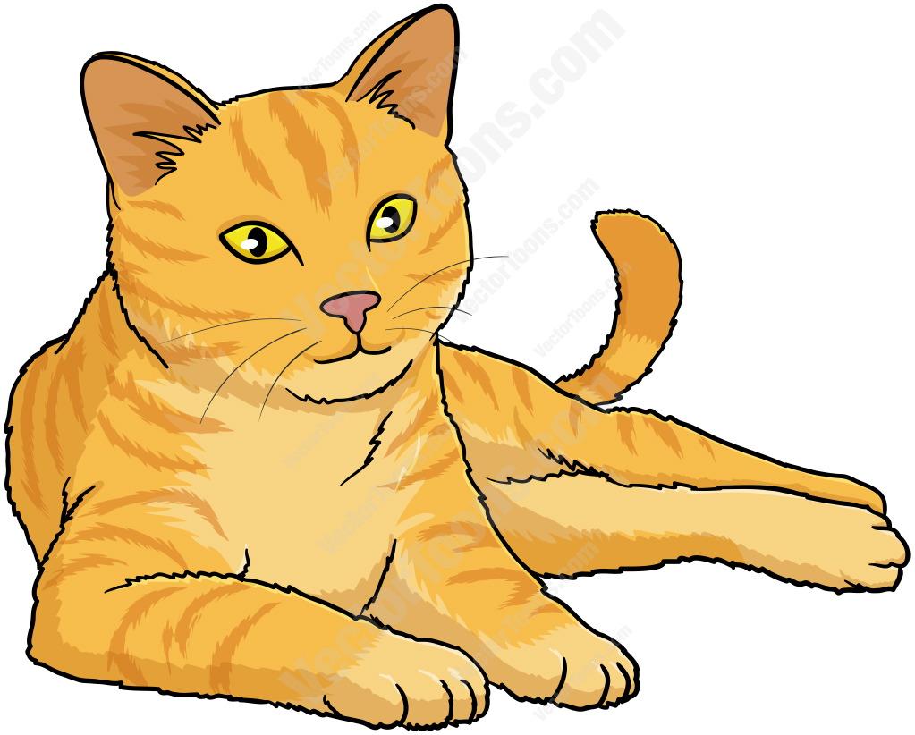 1023x822 Orange Cat Clipart Group