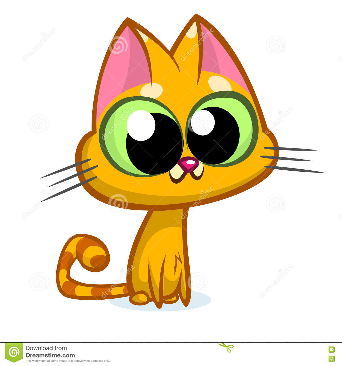 1300x1390 Big Cat Clipart Big Eye