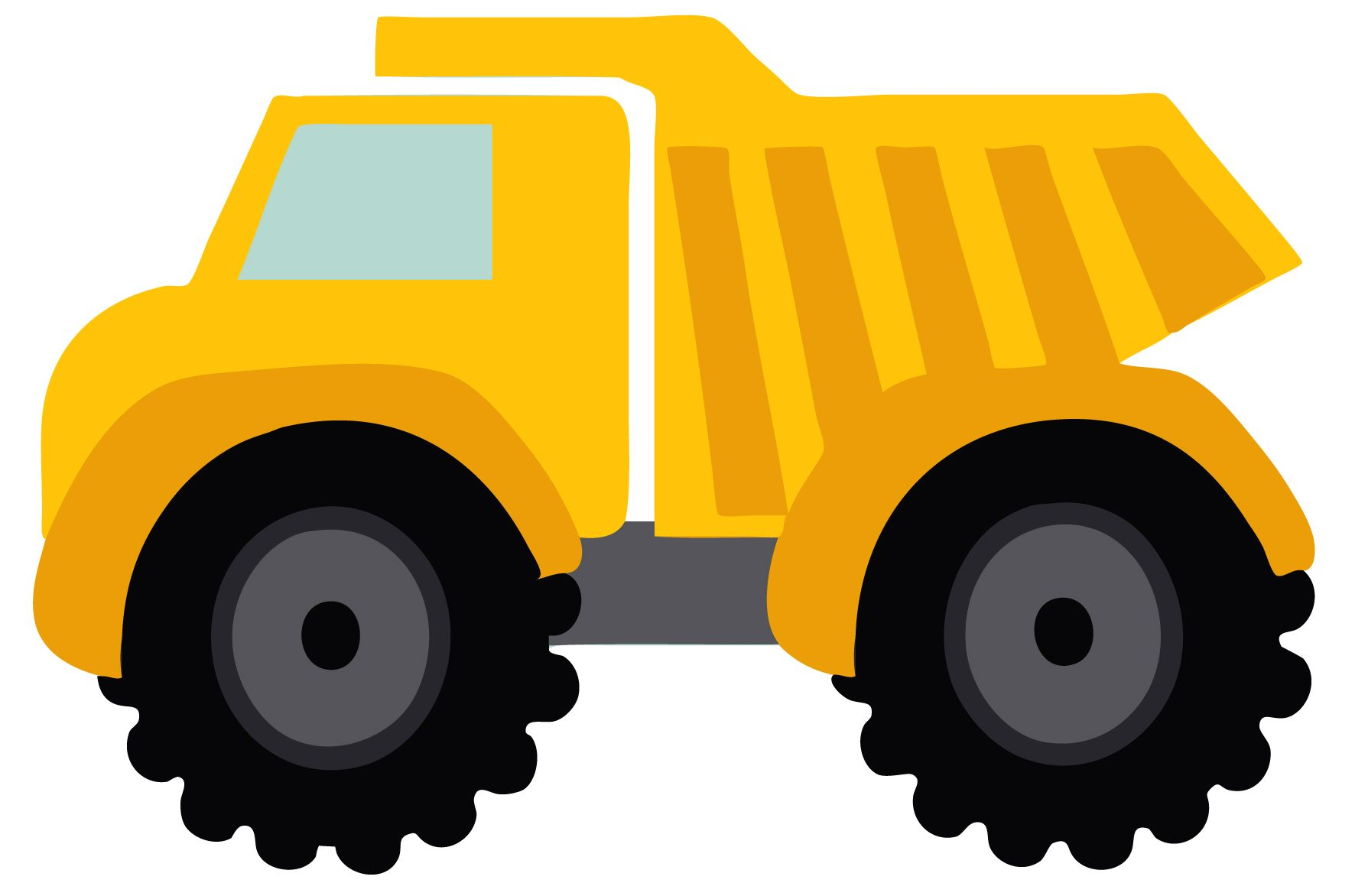 1772x1172 Simplified Pictures Of Construction Trucks Different Types Royalty