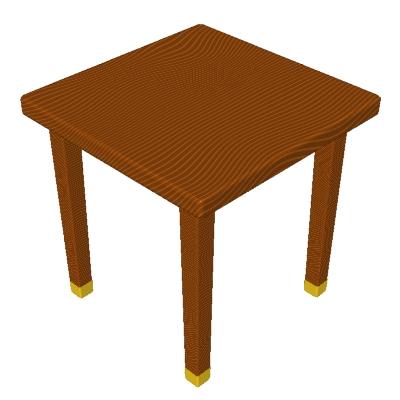 400x400 Clip Art Wood Table Clipart