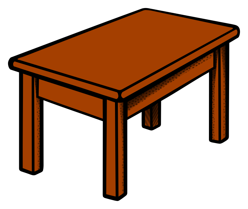 800x675 Collection Of Clipart Of A Table High Quality, Free Cliparts