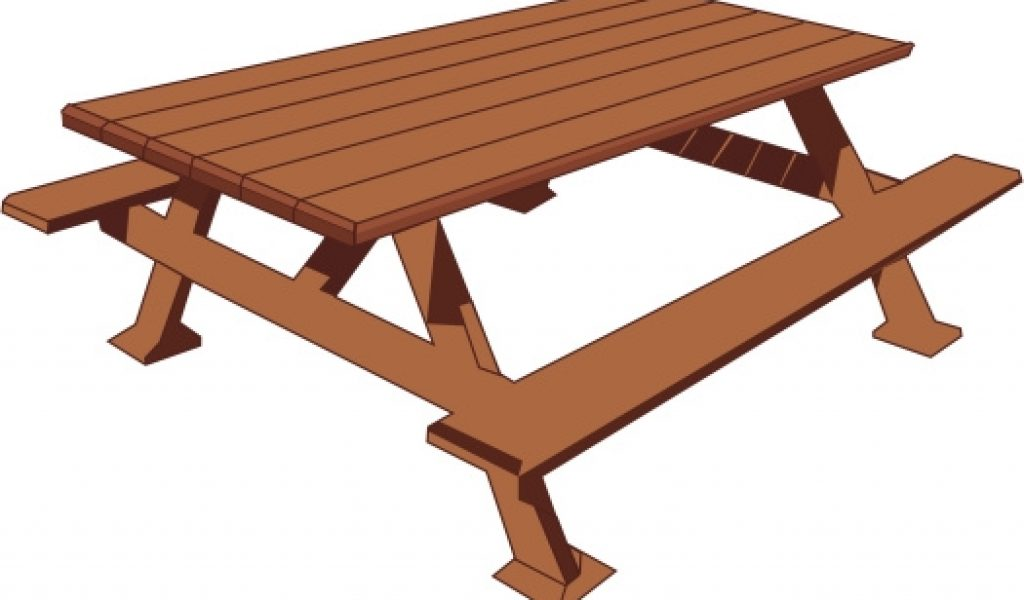 1024x600 Picnic Table Clip Art