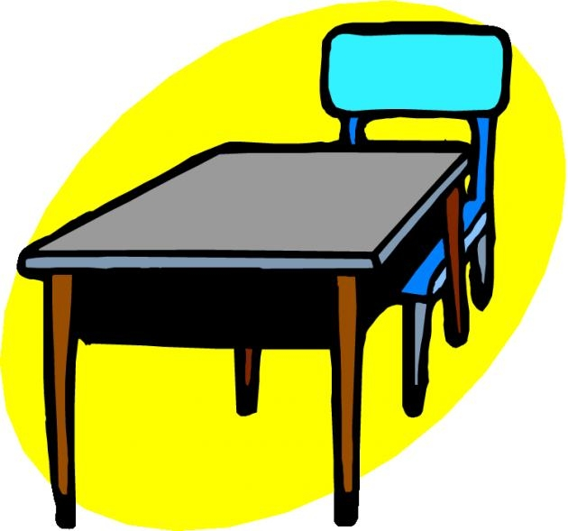 630x589 Table And Chairs Clip Art Penaime