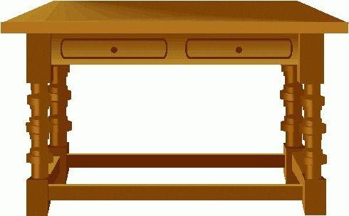 490x304 Table Clipart Clip Art Clip Art Furniture And Stuff