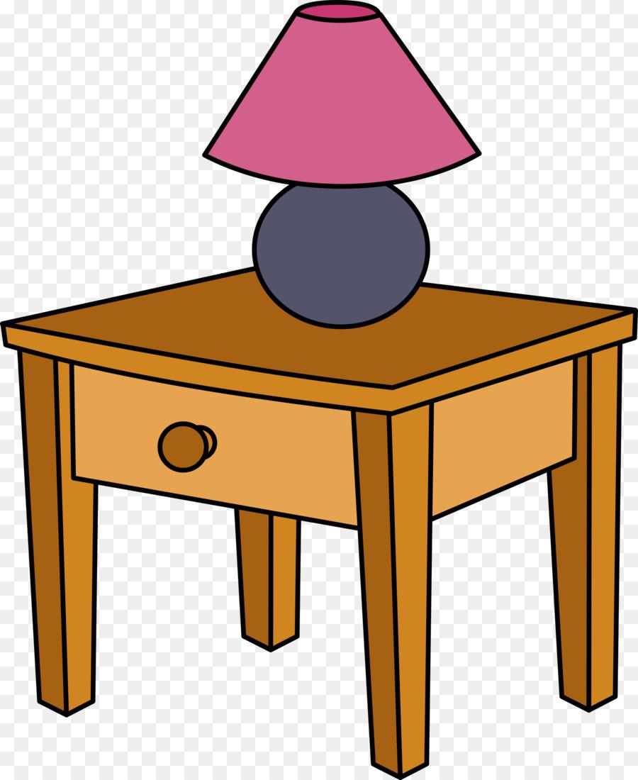 900x1100 Bedside Tables Drawer Bedroom Clip Art