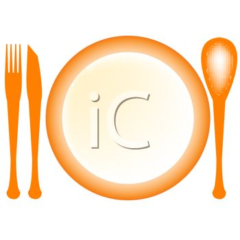 350x350 Cutlery Clipart Empty Plate