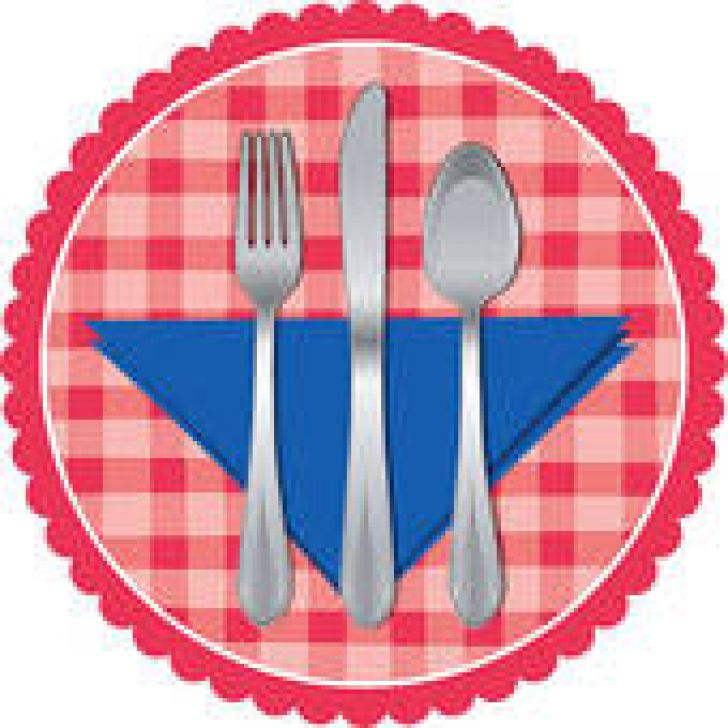 728x728 Outstanding Table Setting Clip Art Images