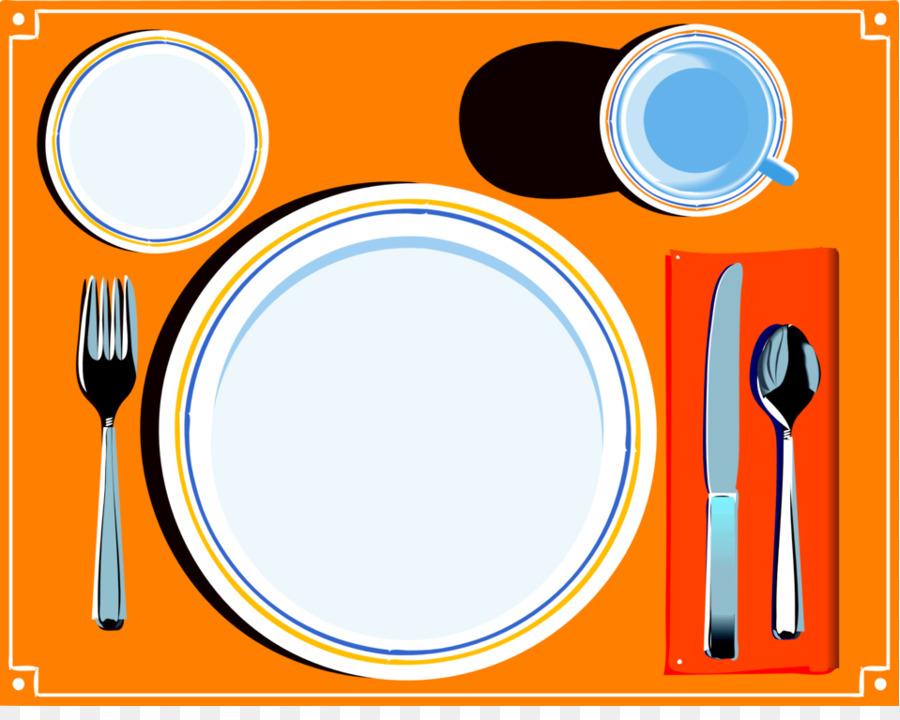 900x720 Table Setting Dinner Plate Clip Art