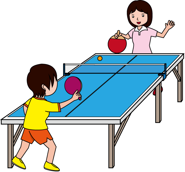 639x597 Image Of Playing Table Tennis Clipart