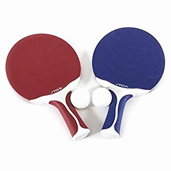 350x350 Amazon Stiga Flow Table Tennis Racket Black White Ping Table