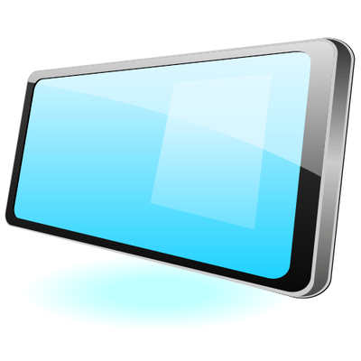 400x400 Free Flat Glossy Tablet Pc Mockup Clipart And Vector Graphics