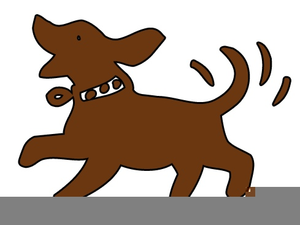 300x225 Clipart Dogs Wagging Tails Free Images