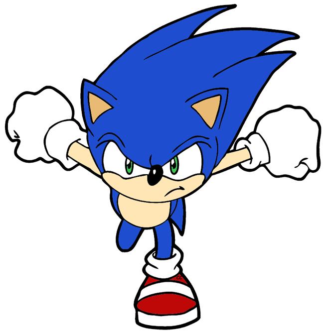 650x667 Sonic The Hedgehog Clip Art Cartoon Clip Art