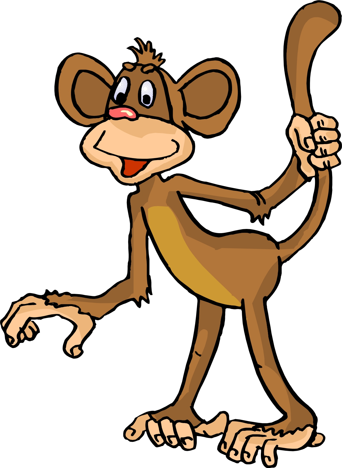 1151x1572 Year Of The Monkey Clipart Monkey Tail