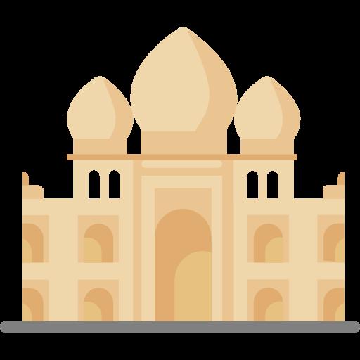 512x512 Travel, India, Asia, Monuments, Agra, Architectonic, Taj Mahal
