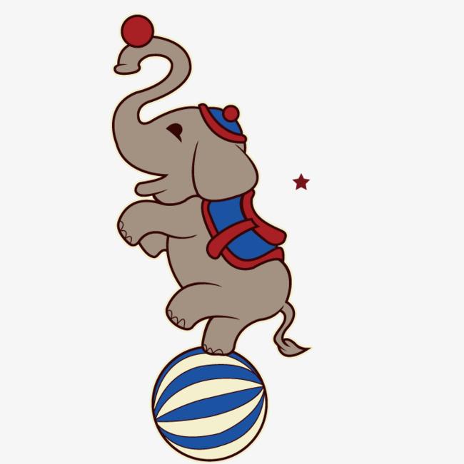 650x651 Performing Elephant, Animal, Art, Talent Show Program Png Image