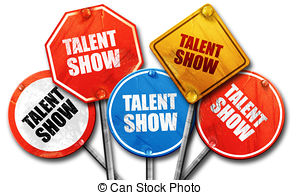 300x195 Talent Show Microphone Words Singing Competition Event Stock