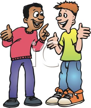 294x350 Royalty Free Cliprt Imagenfricanmerican Teen Talking