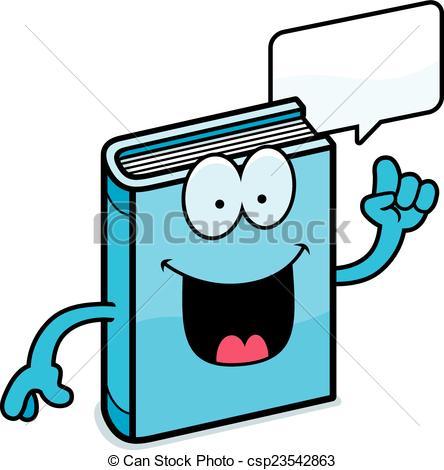 444x470 Cartoon Book Talking. A Cartoon Illustration Of A Book Clip Art