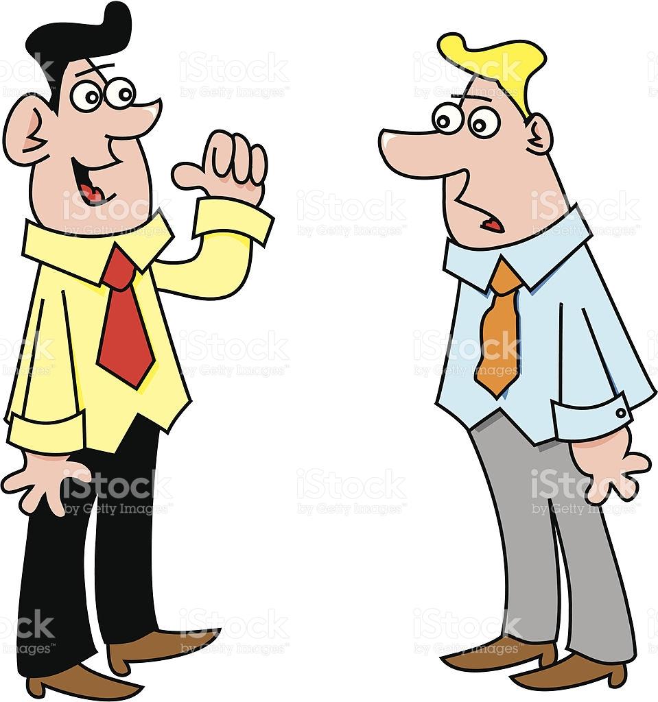959x1024 Two People Talking Clip Art Two Men Talking Vector Id162056792