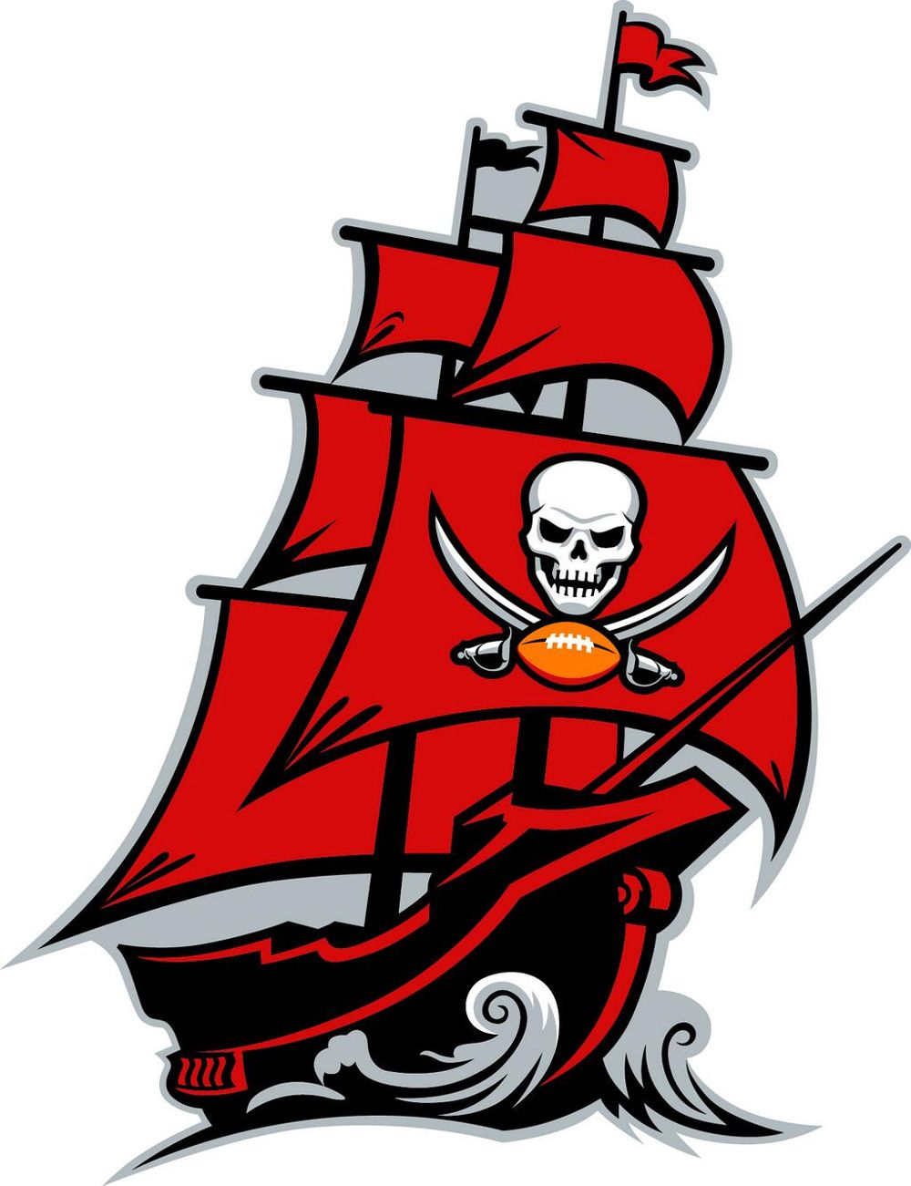 1000x1301 New Logo, Identity, And Helmet For Tampa Bay Buccaneers Design