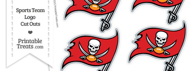 610x229 Small Tampa Bay Buccaneers Logo Cut Outs Printable