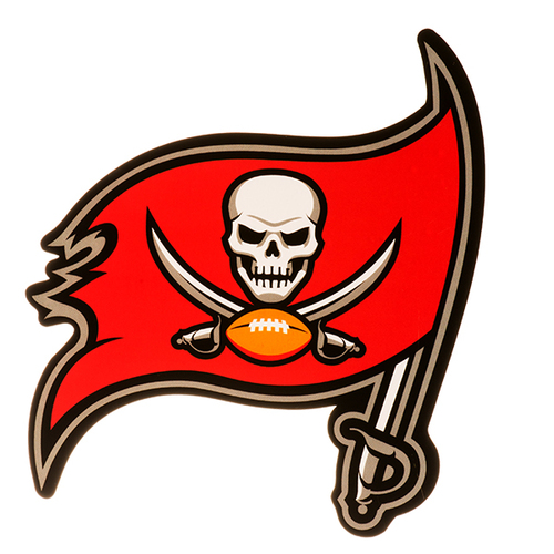500x500 Tampa Bay Buccaneers 4 X 4 Perfect Cut Decal