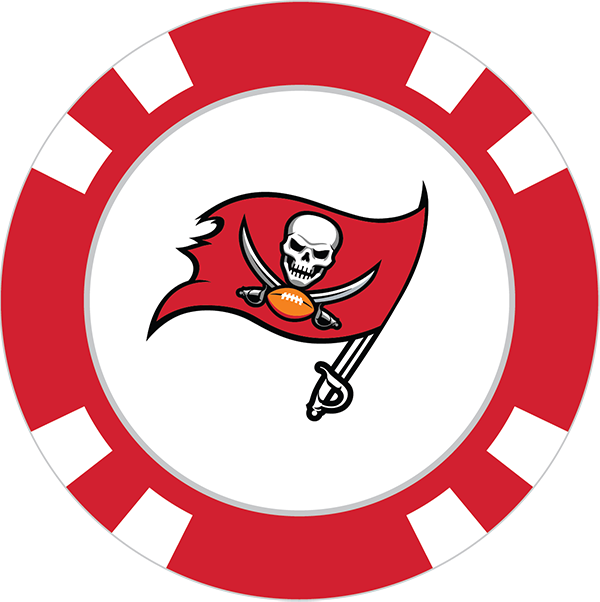 600x602 Tampa Bay Buccaneers Poker Chip Ball Marker