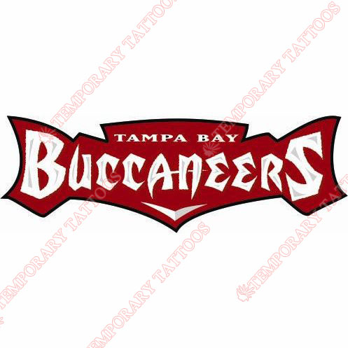 497x497 Tampa Bay Buccaneers Temp Tattoos Customize Temporary Tattoos