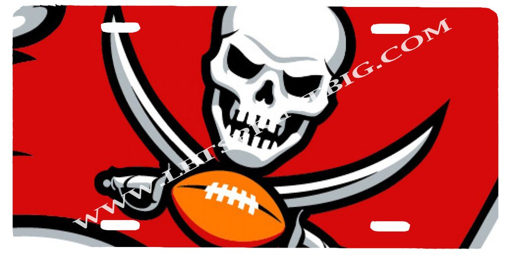 1024x518 Custom License Plates Tagged Tampa Bay Buccaneers Let'S